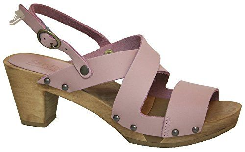 Flex' Clog Wooden Sandalsart453200 Heel Sanita Flexible 'olympia L3ARj4q5