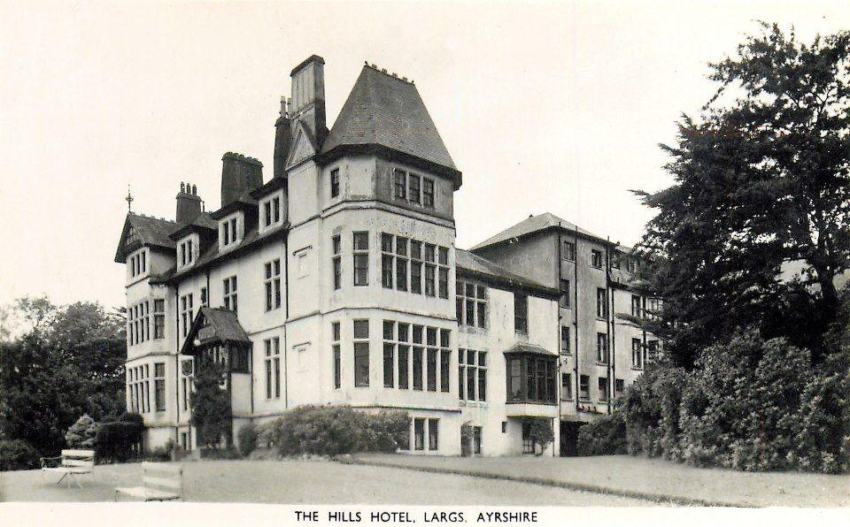 The Hills Hotel Largs North Ayrshire 1906