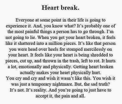 why does heartbreak hurt so much