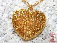 Herz in gold (Halskette)