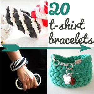 Main Ingredient Monday-T-Shirt Bracelets