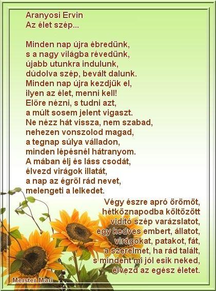 avar | Aranyosi Ervin versei