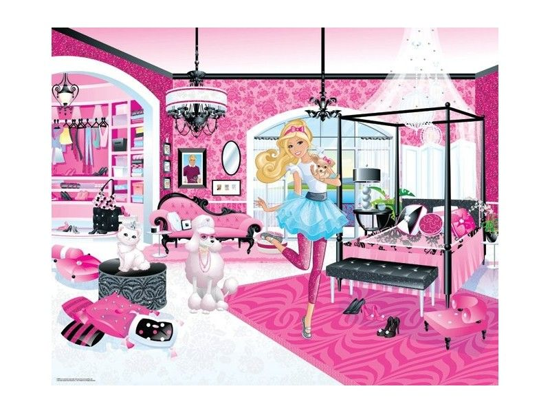 Pin by shalini on kids room in 2020 Barbie girls bedroom