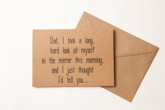 Nice Job Father S Day Card Birthday Card For Father Funny