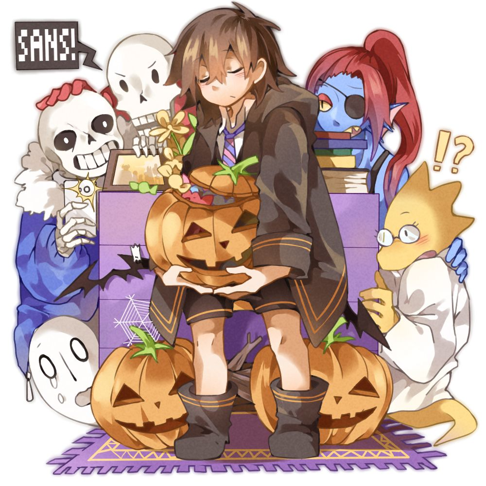 undertale LOG4】Halloween | UNDERTALE 8(-*^*-)8 | Pinterest ...