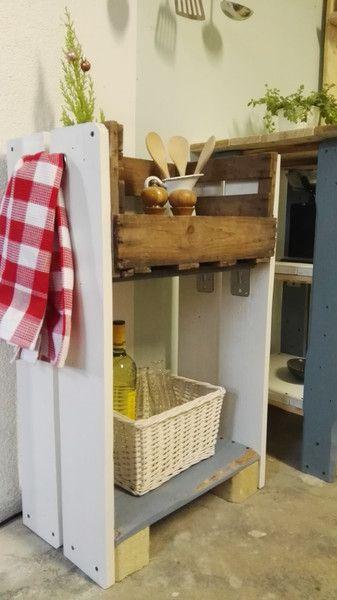 Werken  Bauen - DIY-Anleitungen - küchenregal selber bauen