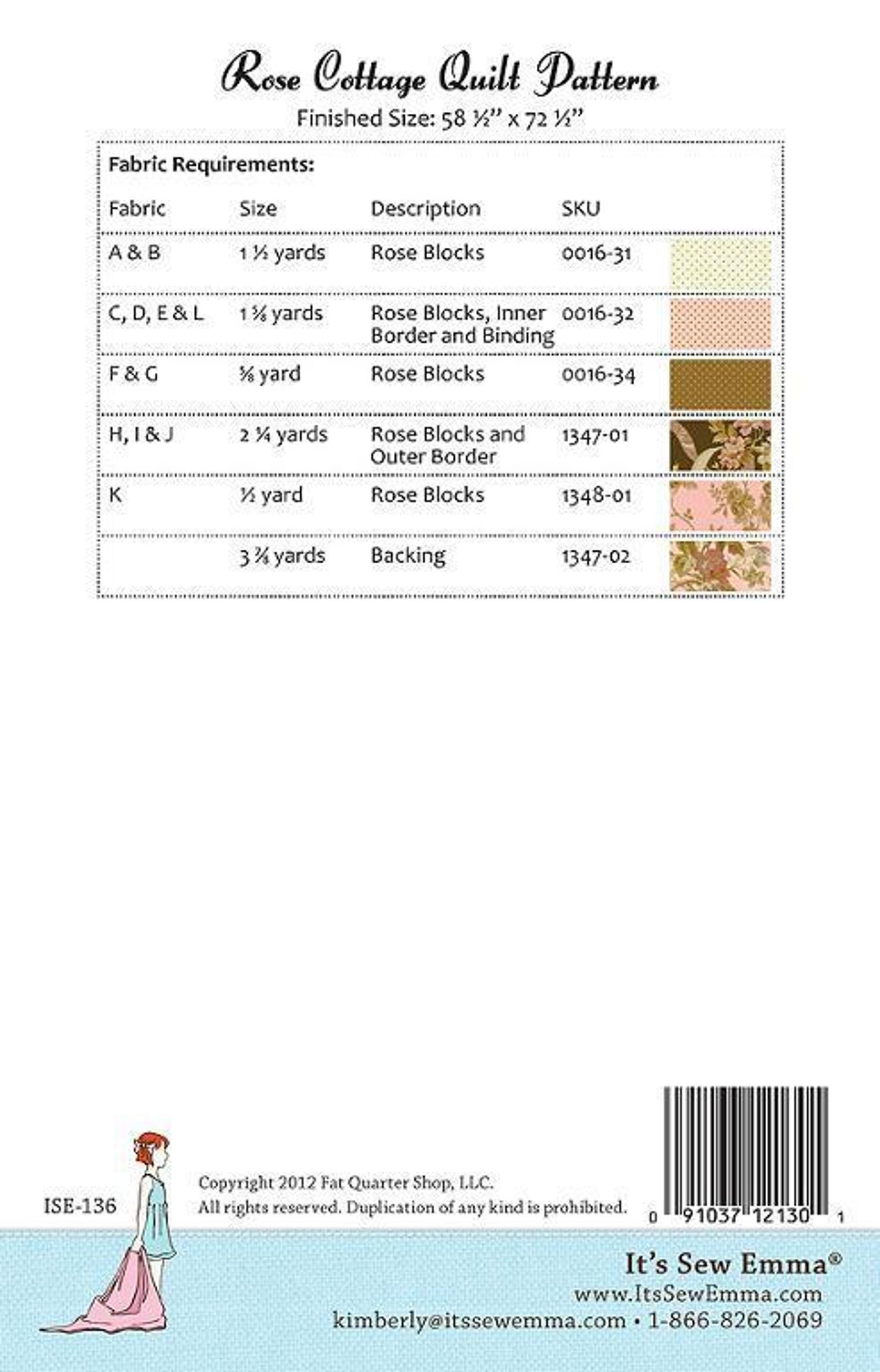 Rose Cottage   Scrap and Patterns : rose cottage quilt shop - Adamdwight.com
