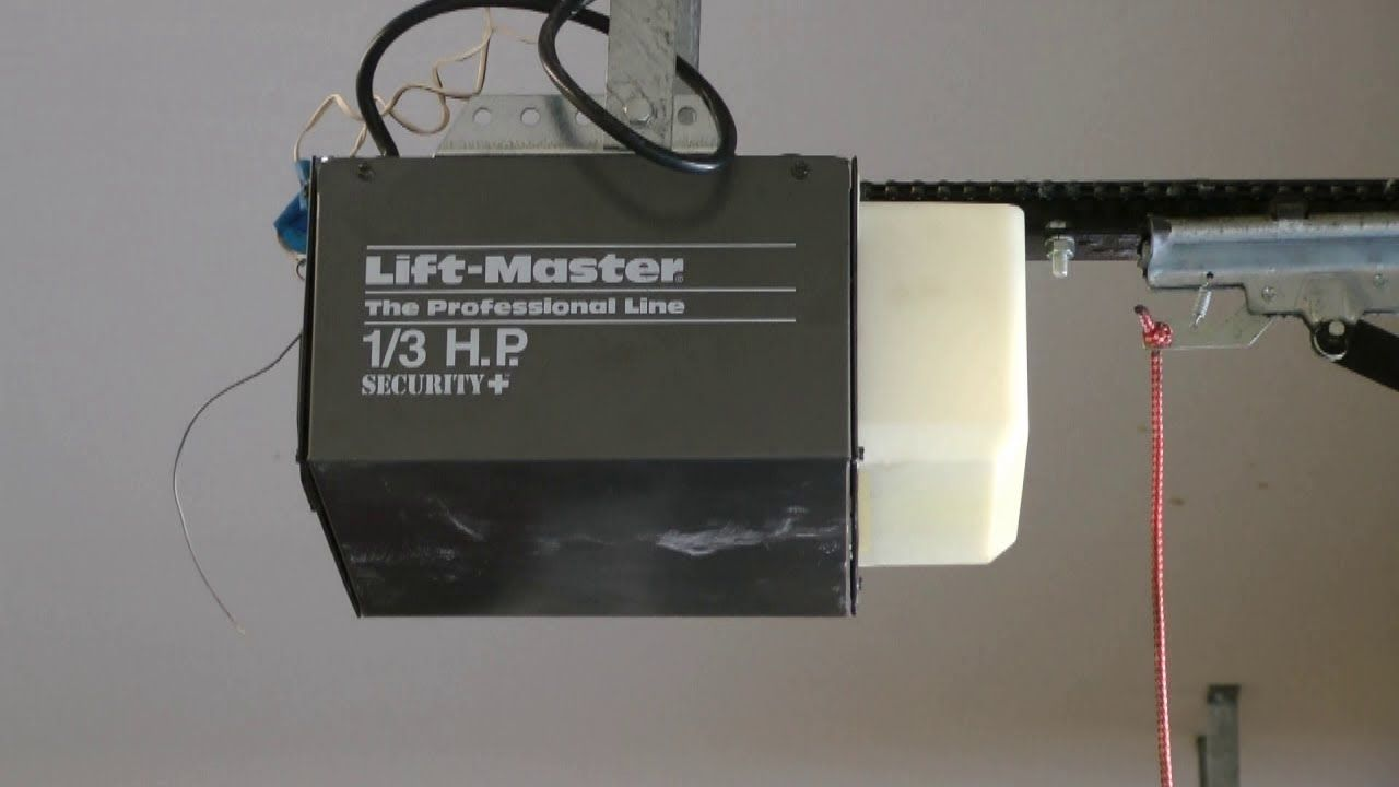 Liftmaster Security Garage Door Opener Programming Http