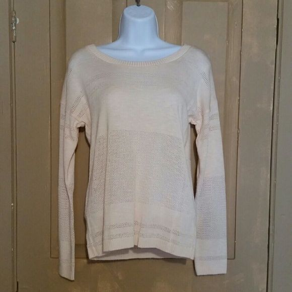 Forever 21 blush sweater Size small, worn but great condition. Forever 21 Sweaters Crew & Scoop Necks