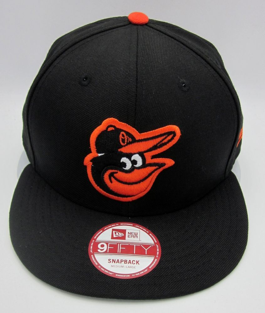 MLB Baltimore ORIOLES Snapback Cap Hat NEW ERA 9FIFTY Medium-Large Black  New  NewEra  BaltimoreOrioles 6912d1188d5