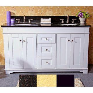 60 double sink vanity with granite top. Bathroom Vanities  Vanity Cabinets For Less Double Sink Shop For Natural Granite Top 60 Inch In
