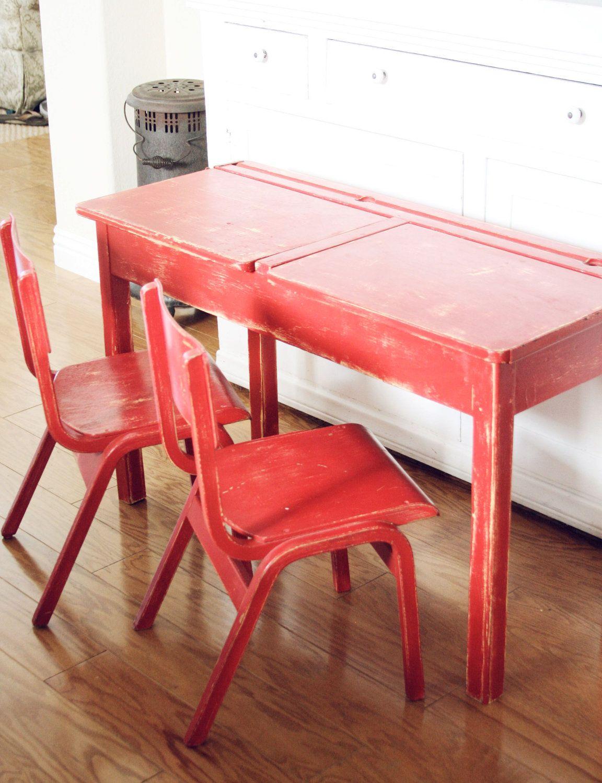 vintage school desk chair combo office zjk-5127m student hostgarcia
