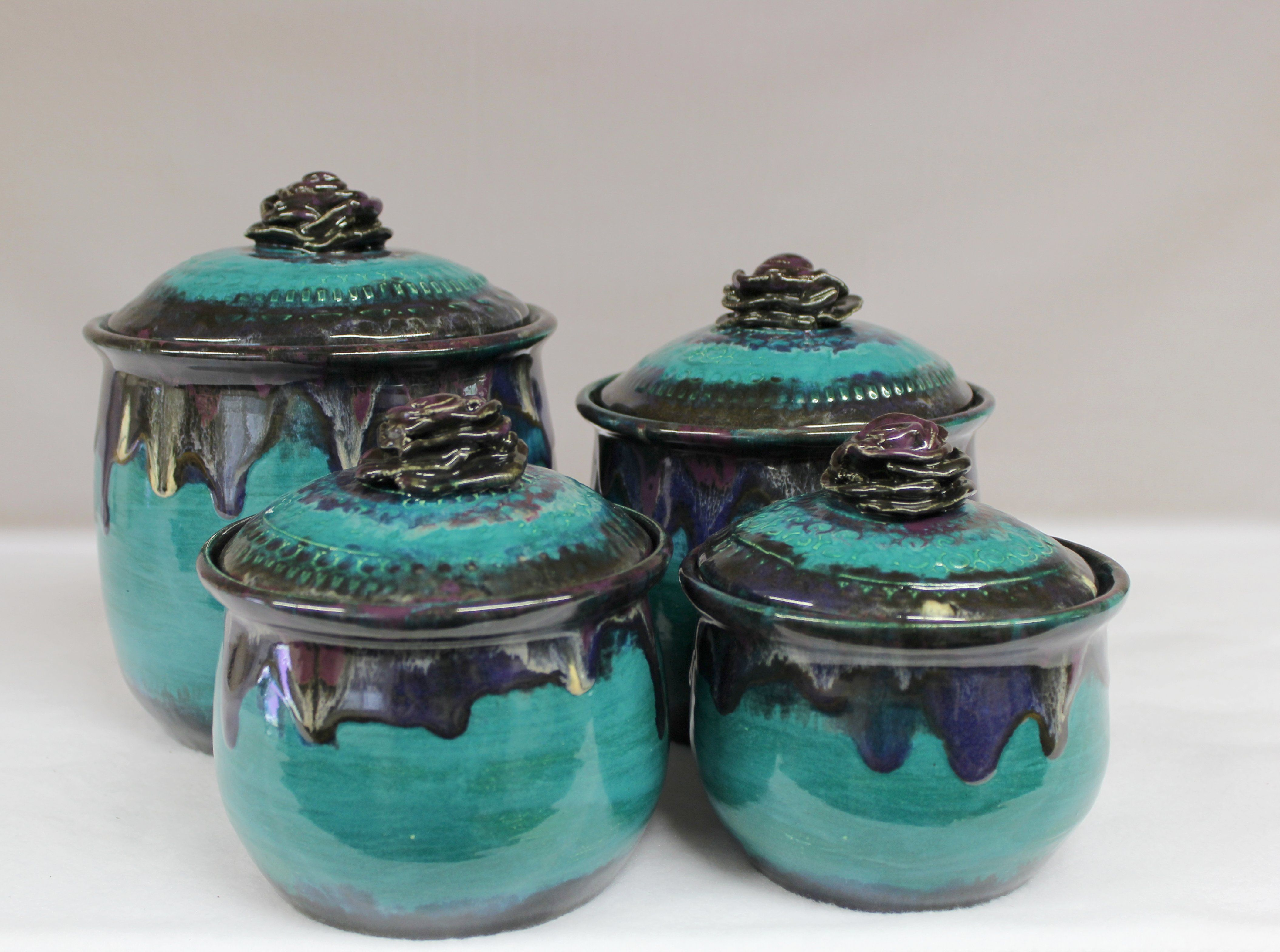 Pin On Ceramic Canisters