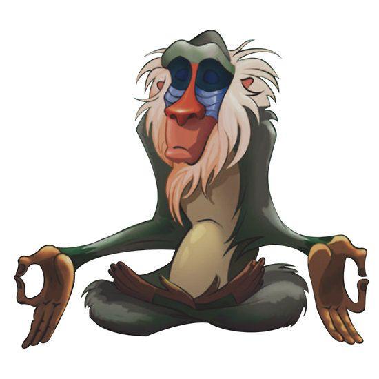 Resultado de imagen de rafiki meditando