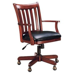 Executive Wooden Desk And Chair
