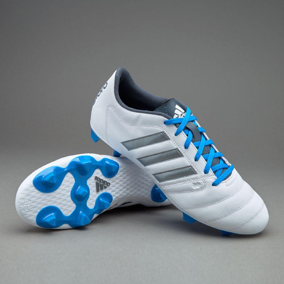 adidas Gloro 16.2 FG WhiteNight MetallicUtility Blue