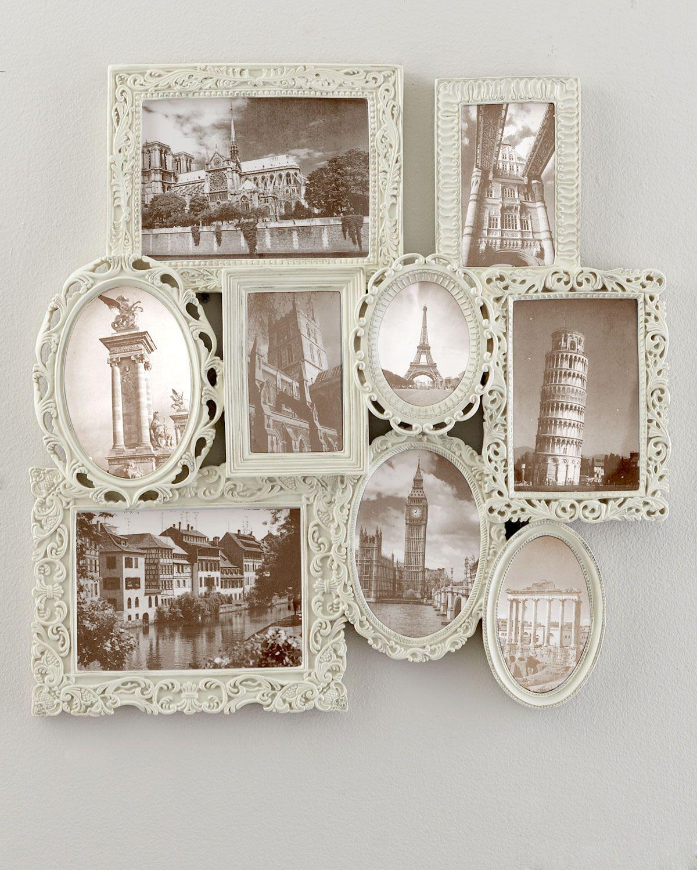 NM EXCLUSIVE Multi-Frame Collage Frame - Horchow   hobi   Pinterest ...