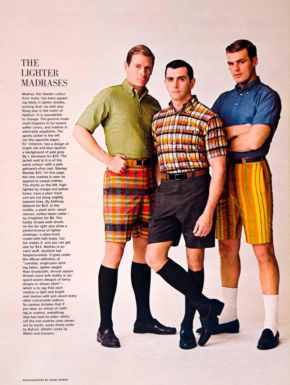 Bermuda Shorts With Knee Socks In Men S Fashion