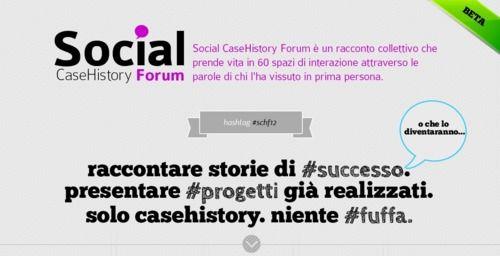 una parte di Directo sarà a Milano giovedì prossimo per seguire il Social Case History 2012, esempi di successo nell'utilizzo del social media marketing.