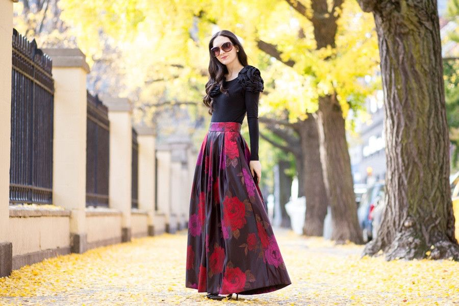 Image result for Long Skirts Are Perfect For Women of All Ages