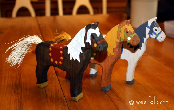 Mighty Steed :: Wooden Horse Tutorial (Wee Folk Art) | Toy ...