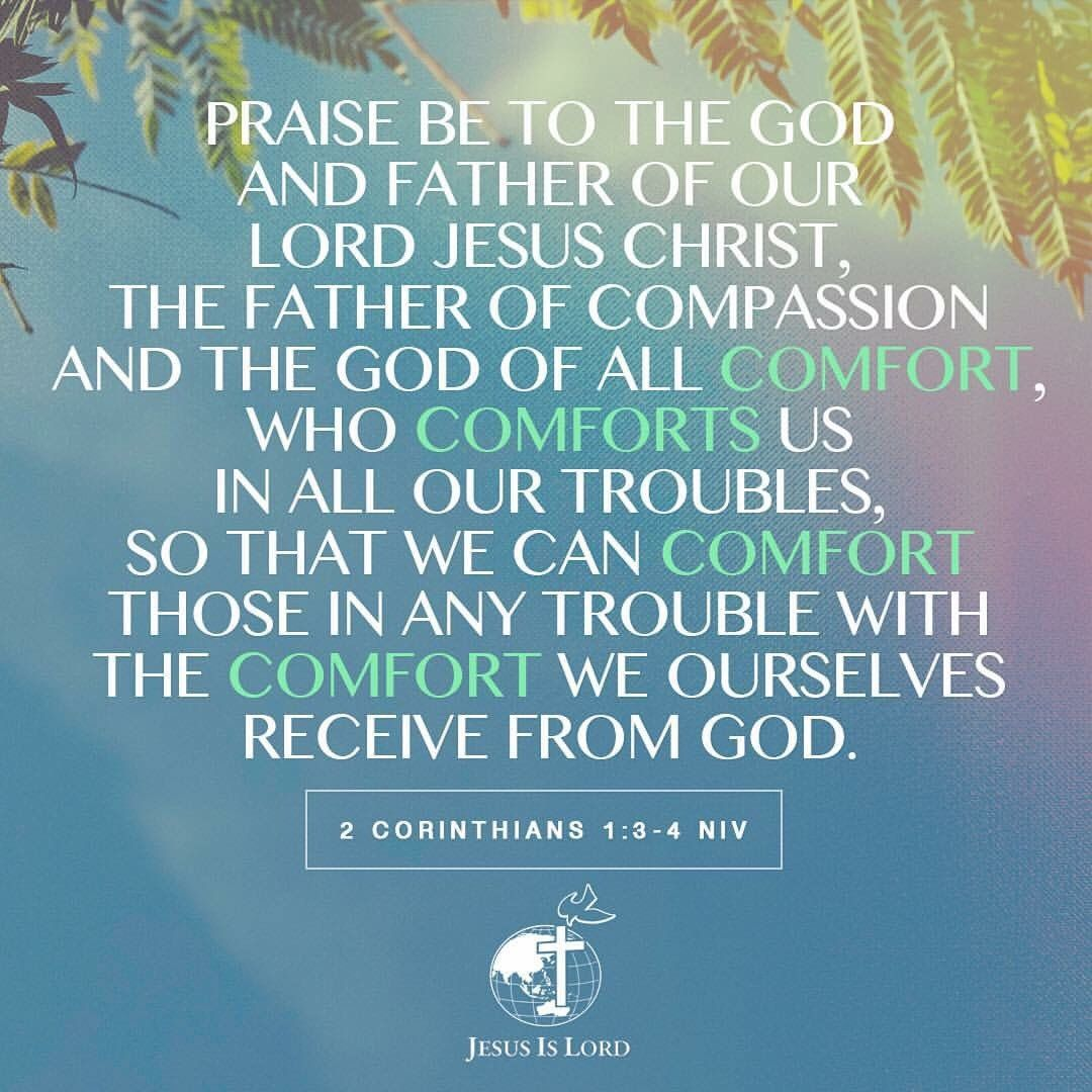 Praise To The God Of All Comfort Praise Be To The God And Father