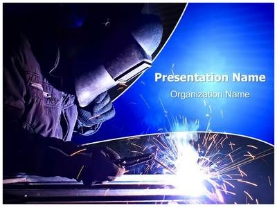 Welding Electrodes Powerpoint Template is one of the best - winter powerpoint template