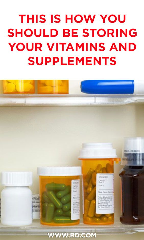 This Is How You Should Be Storing Your Vitamins And Supplements Vitamins Vitamins Supplements Supplements
