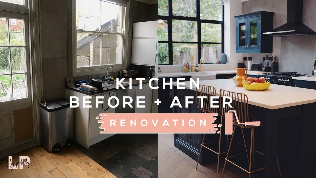 Best Kitchen Tour Before After Lily Pebbles Youtube 400 x 300