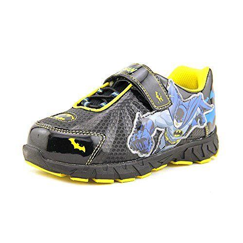 3f35e7adc952a6 DC Comics Boys Batman Athletic Shoes 9 M Black blue DC Comics http
