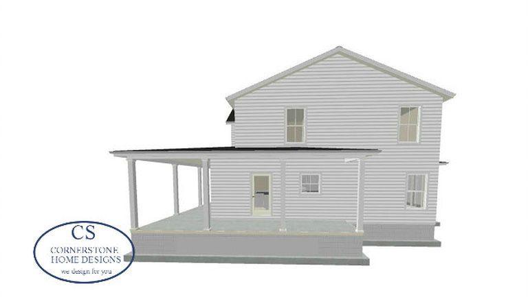 Magnolia Blossom Farmhouse Cornerstone Home House Plans House Plans Farmhouse House Design