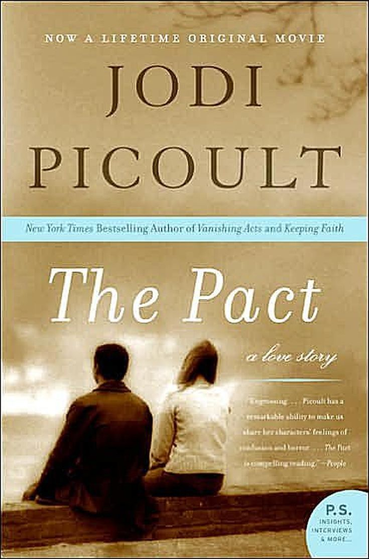 """A Complete List of Books by Jodi Picoult: 1998 - 'The Pact"""""""