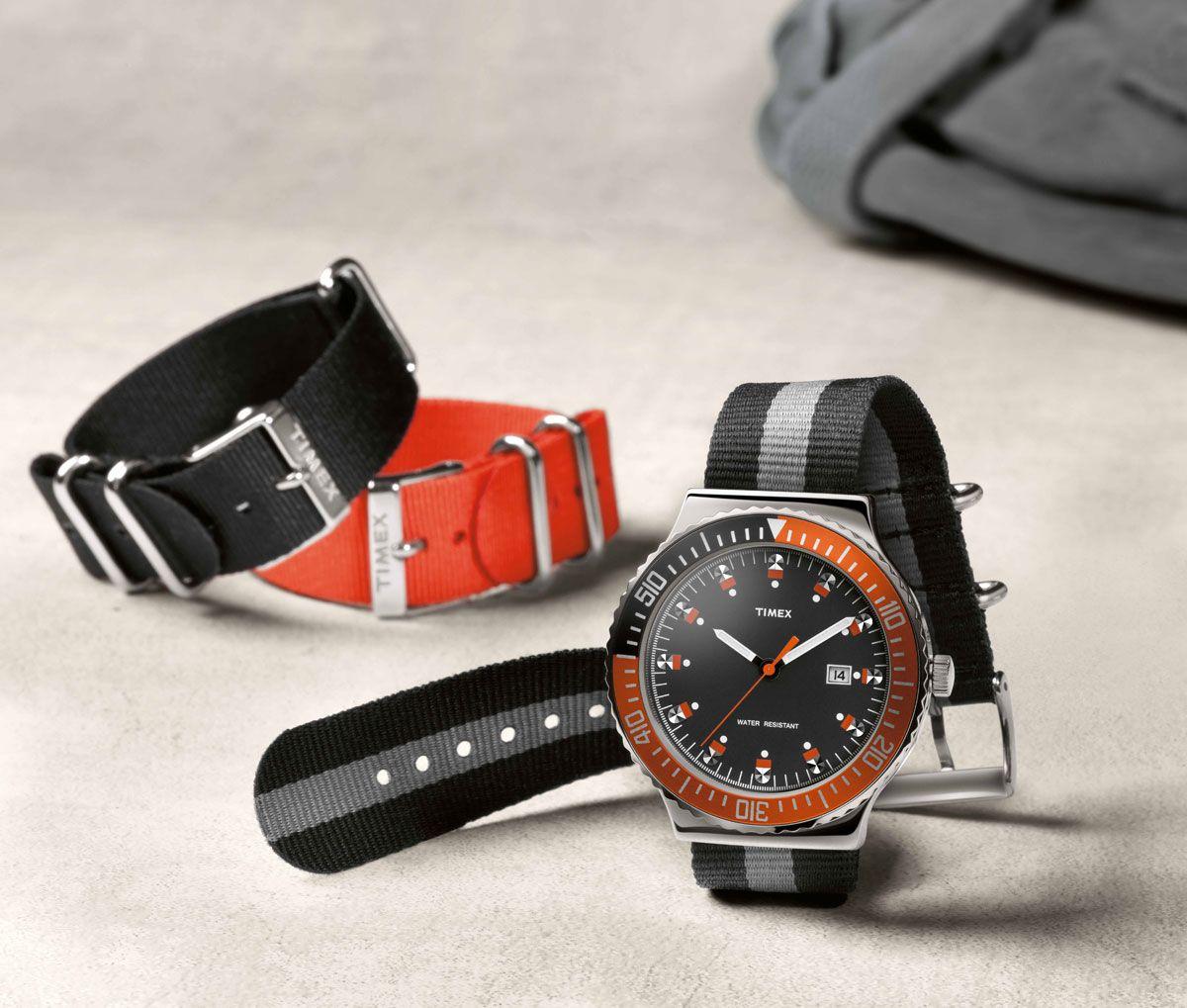 Mit derTIMEX Originals Vintage Inspired 1978 kehrt ein Klassiker der 70er Jahre zurück an die Handgelenke. Mit moderner Technik ausgestattet verströmt die Uhr gekonnt den ungebrochenen Charme verg...