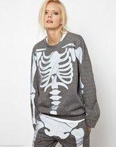 ASHISH Gray Reflective Skeleton Jogger Jumper Sweatshirt XS - $210.02