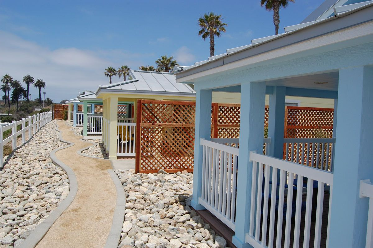 New Beach Cottages At Camp Pendleton Through Its Victory Fund