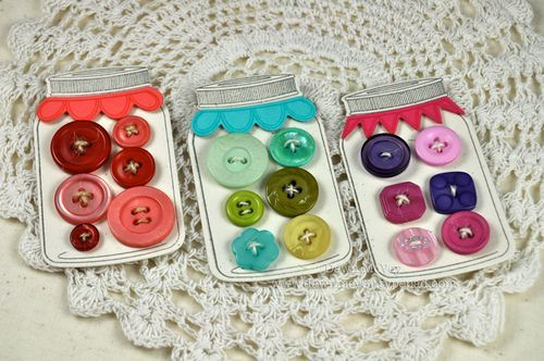 Button crafts - lots of cute ideas