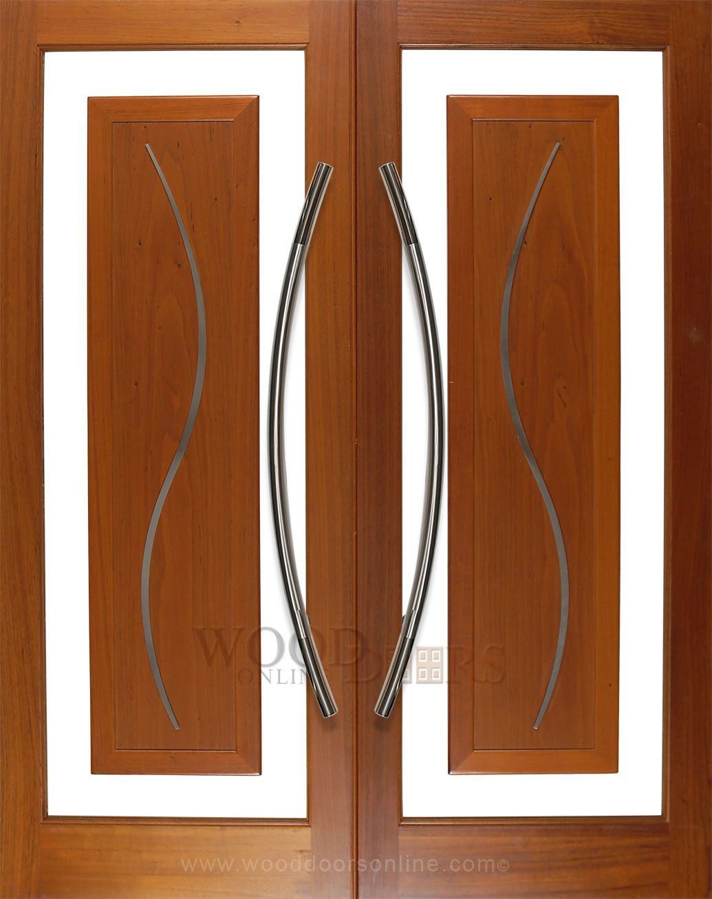 The Large Canyon Long Front Door Pull Handle Is Stunning