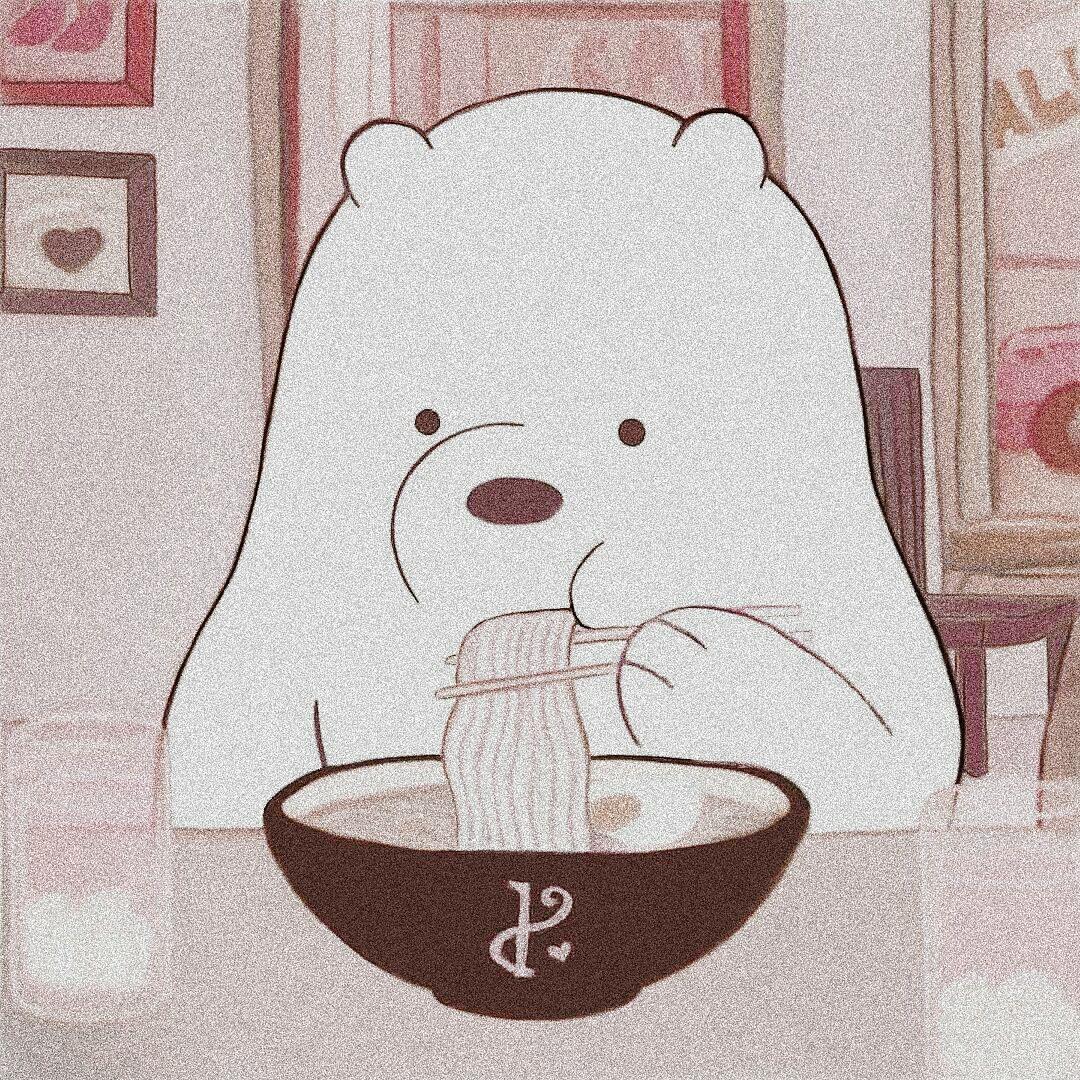 Aesthetic Cartoon Bear Bear Wallpaper We Bare Bears Wallpapers Cute Cartoon Wallpapers Aesthetic wallpaper cartoon bear