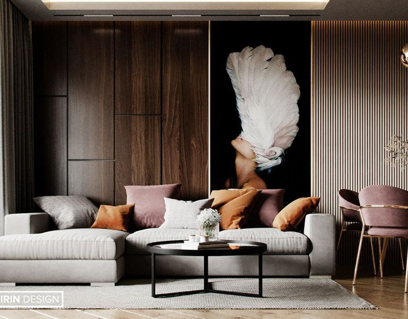3d Visualization Interior Design Modern Classic On Behance In