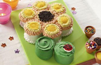 Ice Cream Flower Cake Recipe