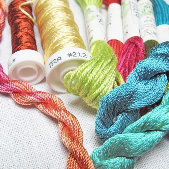 Silk Embroidery Floss Michaels Silk Ribbon Embroidery Flowers Silk