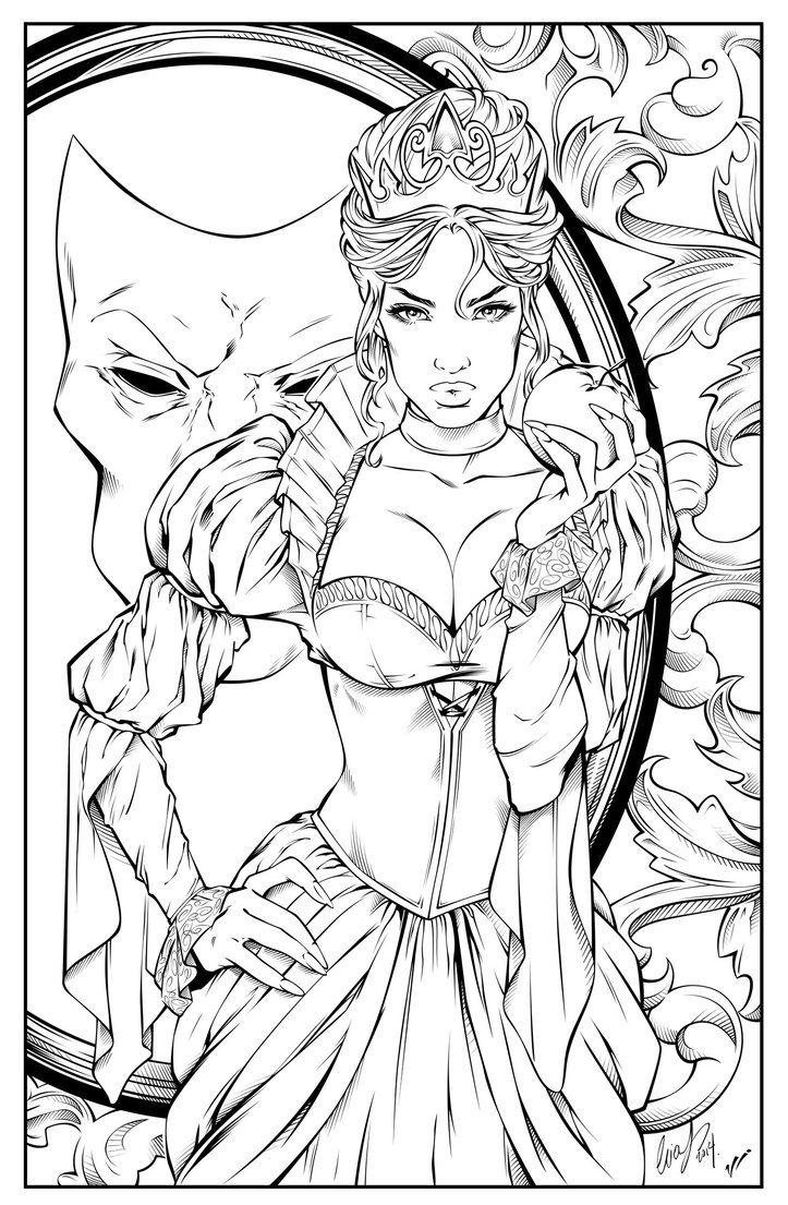 parkers comics exclusive zenescope cover not sure which issue yet