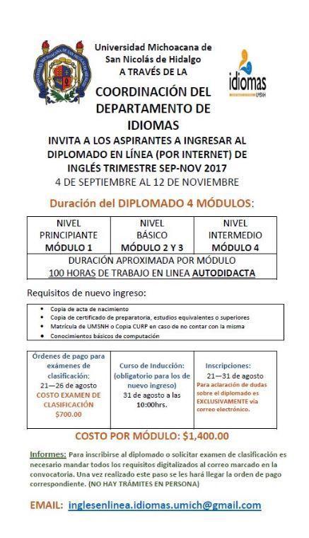 Casa De Hidalgo Ofrece Cursos De Inglés En Línea Ingles En
