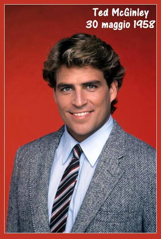 """Ted McGinley Of """"The Colbys"""" 