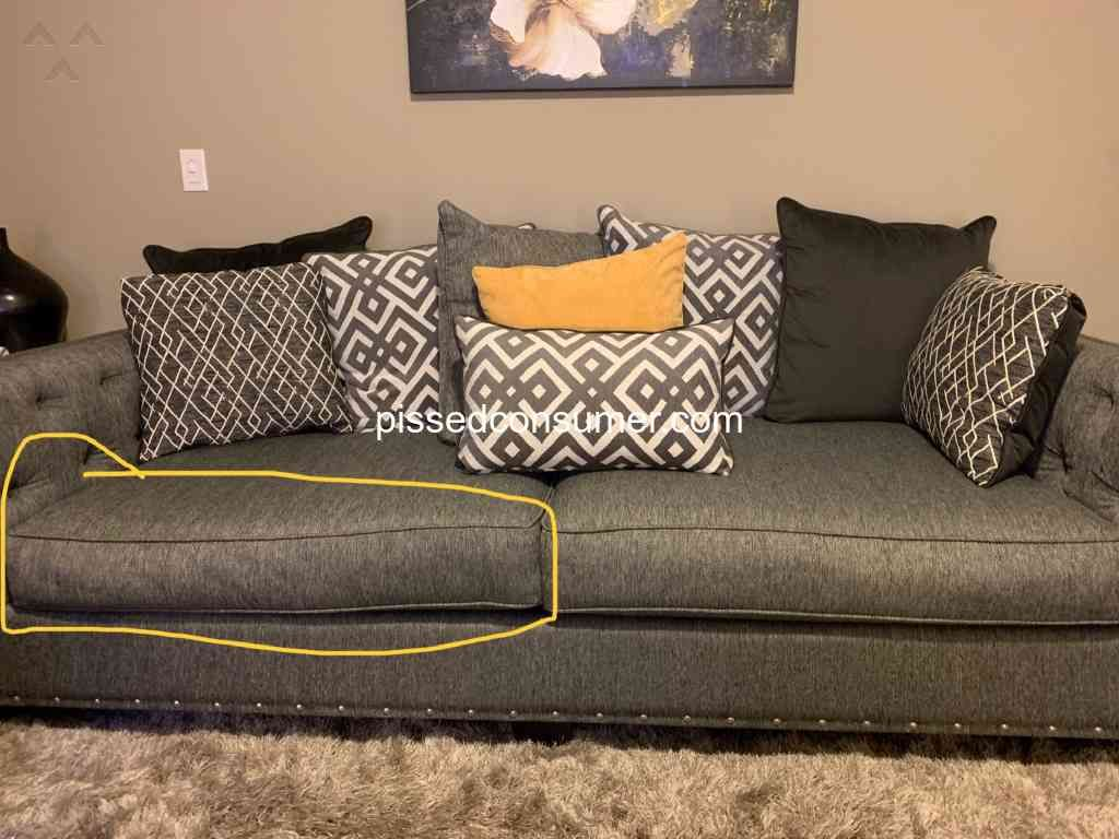 Cindy Crawford Home Sofa Reviews In 2020 Sofa Review Cindy