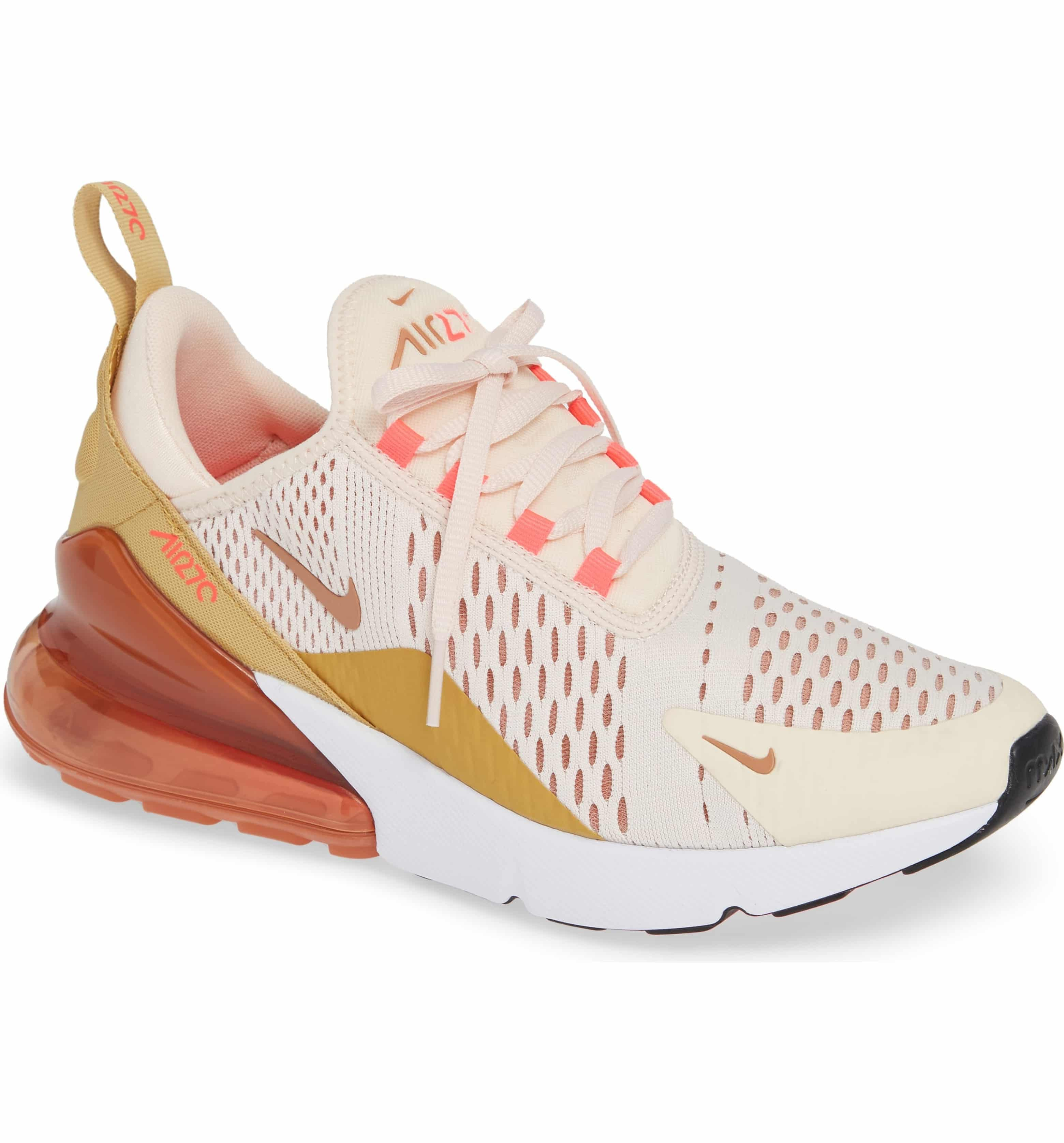cheap for discount 37bfe bc050 Air Max 270 Sneaker, Main, color, GUAVA ICE/ TERRA BLUSH ...