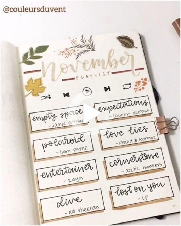Bullet Journal Ideas: 23 Awesome Page Layout to Get You Organized - Sh