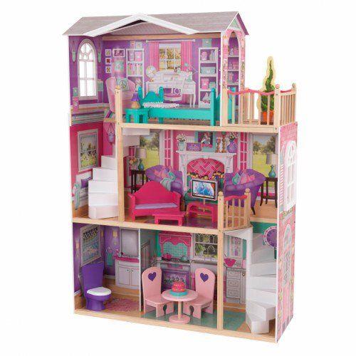 18-Inch Dollhouse Doll Manor Balcony