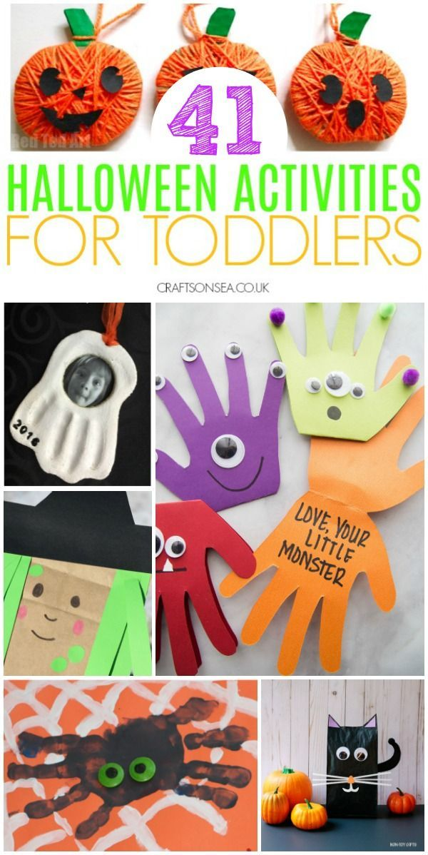 40+ Easy and Fun Halloween Activities for Toddlers #toddlerhalloween