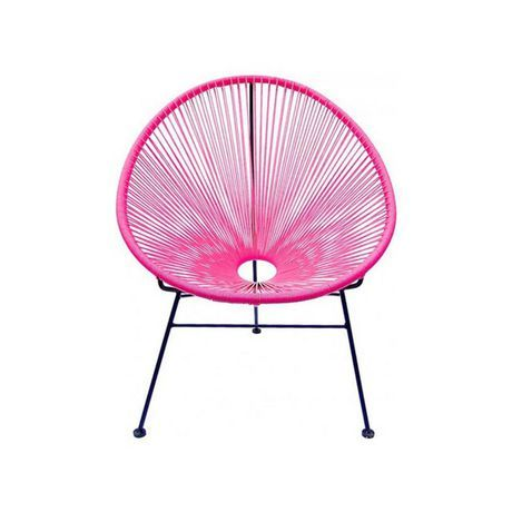 Heavenly Collection Heavenly Collecion Pink Patio Chair Pink #